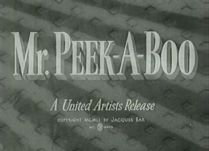 Mr Peek a Boo 1951 DVD - Joan Greenwood / Gérard Oury
